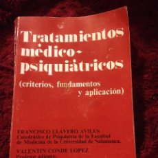 Libros de segunda mano: TRATAMIENTO MEDICO-PSIQUIATRICO 1970. Lote 57147197