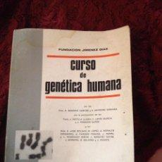 Libros de segunda mano: CURSO DE GENETICA HUMANA 1967. Lote 57147589
