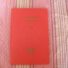 Libros de segunda mano: VADEMECUM LABORATORIOS ROCHE - AÑO 1968 - 136 PAG. - TAPA DURA. Lote 57149803