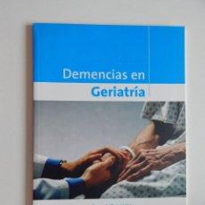 Libros de segunda mano: DEMENCIAS EN GERIATRÍA - 2008. Lote 57159684