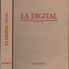 Libros de segunda mano: ARONSON : DESCRIPCIÓN DE LA DIGITAL Y SUS USOS MÉDICOS (1987). Lote 57209615