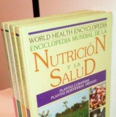 Libros de segunda mano - ENCICLOPEDIA MUNDIAL DE LA NUTRICIÓN Y LA SALUD. tomos 1, 2, 3 y 4. - 57303628