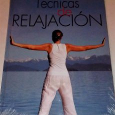 Libros de segunda mano: LIBRO TÉCNICAS DE RELAJACIÓN. GRUPO CULTURAL. Lote 57339946