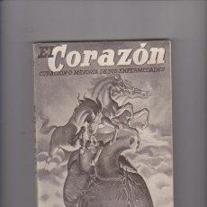 Libros de segunda mano: DR. VANDER - EL CORAZÓN - MEDICINA NATURAL - ILUSTRADO 1948. Lote 57545636