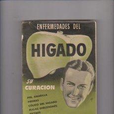 Libros de segunda mano: DR. VANDER - ENFERMEDADES DEL HIGADO - MEDICINA NATURAL - ILUSTRADO . Lote 57545686