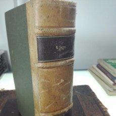 Libros de segunda mano: TERAPÉUTICA CLÍNICA III 2ª PARTE - OIDO-NARIZ-GARGANTA - RENATO SEGRE - EDIT. EL ATENEO - 1947 -. Lote 57890485