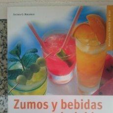 Libros de segunda mano: ZUMOS Y BEBIDAS SALUDABLES JOCHEN G BIELEFELD ED HISPANO EUROPEA -REFSAMUDEVIES6. Lote 57930183
