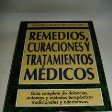 Libros de segunda mano: REMEDIOS CURACIONES Y TRATAMIENTOS MÉDICOS. 1998. Lote 58133396