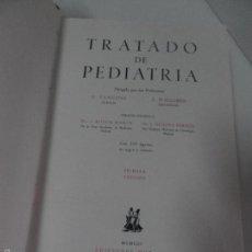 Libros de segunda mano: TRATADO DE PEDIATRIA, FANCONI-WALLGREN, 1953, EDICIONES MORATA , MADRID. 1º EDICION. Lote 58452340