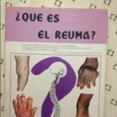 Libros de segunda mano: ¿QUÉ ES EL REUMA? - MIGUEL LLABRÉS-JAUME -. Lote 58590584