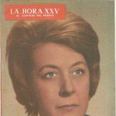 Libros de segunda mano: LA HORA XXV AL SERVICIO DEL MÉDICO – CARMEN NONELL - 1965. Lote 59981335
