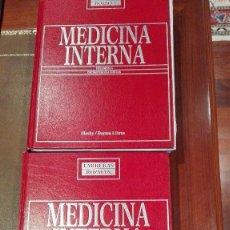 Libros de segunda mano: MEDICINA INTERNA.VOLUMEN I Y II.DECIMOTERCERA EDICION.FARRERAS-ROZMAN.. Lote 61347411