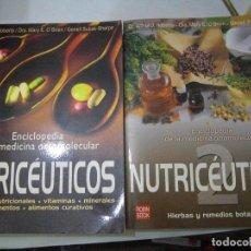 Libros de segunda mano: ENCICLOPEDIA DE LA MEDICINA ORTOMOLECULAR. NUTRICEUTICOS. 2 VOLUMENES.ARTHUR J. ROBERT Y OTROS.. Lote 61892296