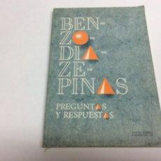 Libros de segunda mano: BENZODIAZEPINAS PREGUNTAS Y RESPUESTAS / WYETH-AYERST. Lote 62609274