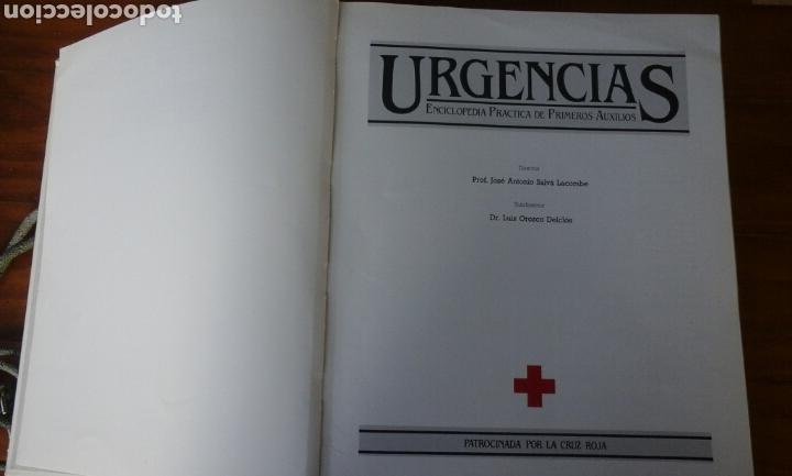 Libros de segunda mano: Primeros auxilios. Urgencias.Completa.Cruz Roja. - Foto 4 - 63368604