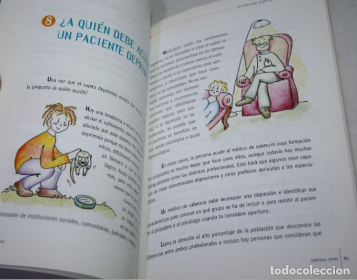 Libros de segunda mano: AFRONTAR LE DEPRESION, VALLEJO RUILOBA Y CRESPO BLANCO, J&C EDICIONES MEDICAS 1ª ED. 1999, LIBRO - Foto 2 - 63565488