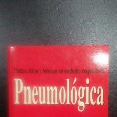 Libros de segunda mano: PNEUMOLOGICA. PAUTAS, DATOS Y TECNICAS EN MEDICINA RESPIRATORIA. 1997. Lote 63723083