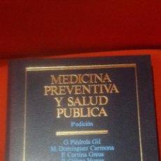 Libros de segunda mano: MEDICINA PREVENTIVA Y SALUD PUBLICA. 8ª EDICION. SALVAT. Lote 63999863