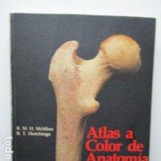Libros de segunda mano: ATLAS A COLOR DE ANATOMÍA HUMANA. R. M. H. MCMINN, R. T. HUTCHINGS. HAROFARMA,. Lote 146813480