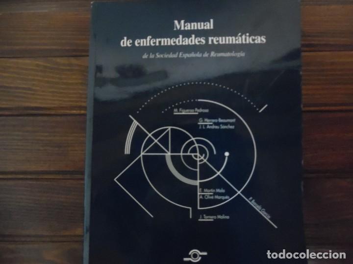 MANUAL DE ENFERMEDADES REUMÁTICAS (Libros de Segunda Mano - Ciencias, Manuales y Oficios - Medicina, Farmacia y Salud)