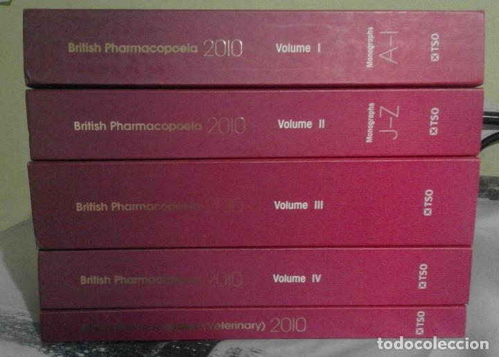 FARMACOPEA BRITÁNICA - BRITISH PHARMACOPOEIA - EDICIÓN 2010 - COMPLETA - EN INGLÉS (Libros de Segunda Mano - Ciencias, Manuales y Oficios - Medicina, Farmacia y Salud)