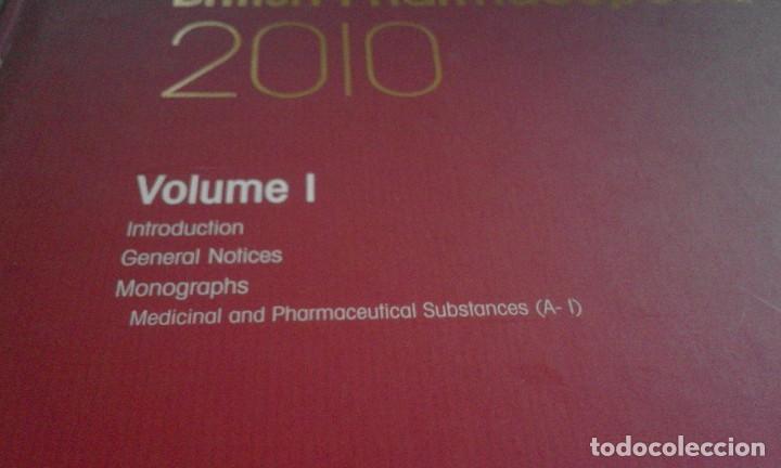 Libros de segunda mano: Farmacopea Británica - British Pharmacopoeia - Edición 2010 - Completa - en inglés - Foto 7 - 67509497