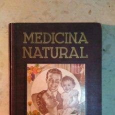 Libros de segunda mano: MEDICINA NATURAL DR.VANDER 1947. Lote 178233402