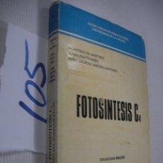 Libros de segunda mano: FOTOSINTESIS C. Lote 68372661