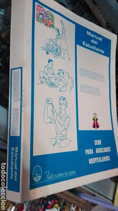MANUAL DEL ESTUDIANTE ENFERMERA AUXILIAR (Libros de Segunda Mano - Ciencias, Manuales y Oficios - Medicina, Farmacia y Salud)