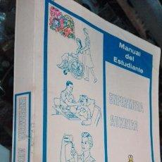 Libros de segunda mano: MANUAL DEL ESTUDIANTE ENFERMERA AUXILIAR. Lote 69668407