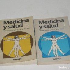Libros de segunda mano: MEDICINA Y SALUD NUM. 1 Y 15. Lote 70141669