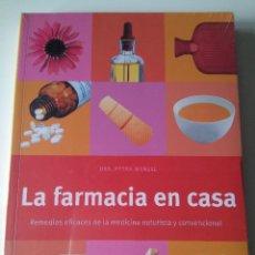 Libros de segunda mano: LIBRO LA FARMACIA EN CASA. EVEREST. NUEVO Y PRECINTADO.. Lote 71535295