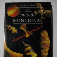 Libros de segunda mano: EL MÉTODO MONTIGNAC - ESPECIAL MUJER - MICHEL MONTIGNAC - EDITORES MUCHNIK - 1994. Lote 72051827