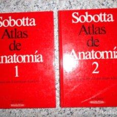 Libros de segunda mano: SOBOTTA ATLAS DE ANATOMIA - 2 TOMOS.. Lote 72109587