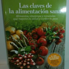 Libros de segunda mano: LS 1 LAS CLAVES DE LA ALIMENTACIÓN SANA - RBA REVISTAS, S.L.. Lote 72119275