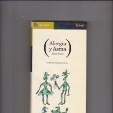 Libros de segunda mano: ALERGIA Y ASMA - ALFREDO BLANCO - AGUILAR EDITORIAL 1996. Lote 72233407