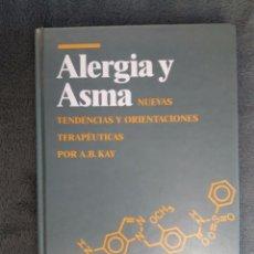Libros de segunda mano: ALERGIA Y ASMA / NUEVAS TENDENCIAS Y ORIENTACIONES TERAPEUTICAS / A.B. KAY / EDI. MAYO / 1ª EDICIÓN. Lote 72356191