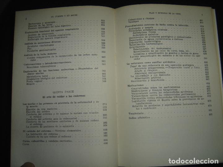 Libros de segunda mano: TU CUERPO Y TU SALUD. DR. F. GOUST. PRIMERA EDICION. EXCELENTE ESTADO - Foto 8 - 73769931