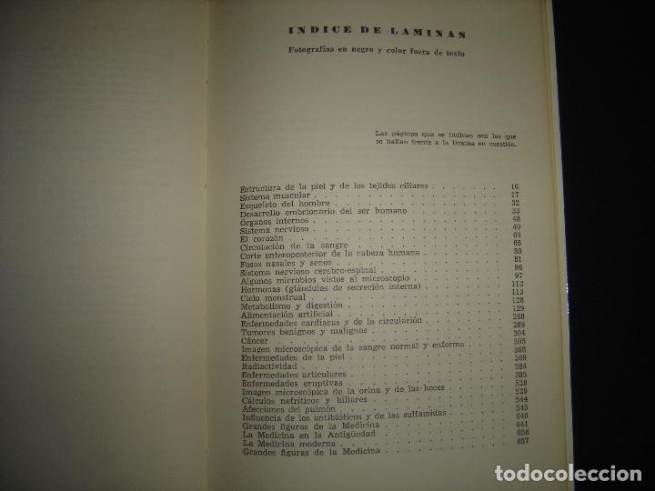 Libros de segunda mano: TU CUERPO Y TU SALUD. DR. F. GOUST. PRIMERA EDICION. EXCELENTE ESTADO - Foto 9 - 73769931