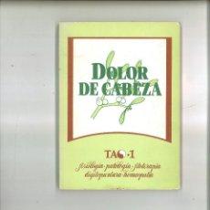 Libros de segunda mano: DOLOR DE CABEZA. STEFAN KAPPSTEIN Y ORIOL GASPAR. Lote 73940039