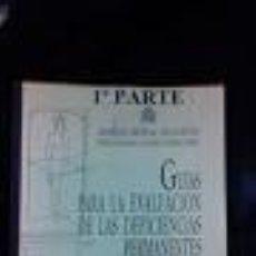 Libros de segunda mano: GUIAS PARA LA EVALUACION DE LAS DEFICIENCIAS PERMANENTES 1º PARTE. AMERICAN MEDICAL ASSOCIATION. MED. Lote 74340399