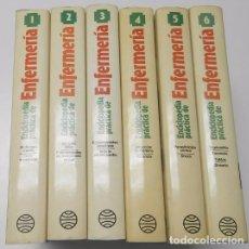 Libros de segunda mano: ENCICLOPEDIA PRÁCTICA DE ENFERMERÍA (6 TOMOS) (PLANETA, 1984). Lote 75023499