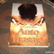 Libros de segunda mano: AUTO MASAJE . Lote 75156599