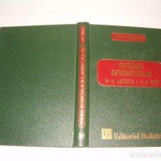 Libros de segunda mano: G. C. LLOYD – ROBERTS. PATOLOGÍA OSTEOARTICULAR EN EL LACTANTE Y EN EL NIÑO. RMT78843. . Lote 75305195