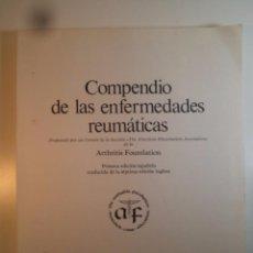 Libros de segunda mano: COMPENDIO DE LAS ENFERMEDADES REUMÁTICAS. SOCIEDAD ESPAÑOLA DE REUMATOLOGÍA, 1977. Lote 75514847