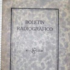Libros de segunda mano: BOLETIN RADIOGRAFICO. NUMERO 15. MAYO, 1930. KODAK. S. A. MADRID. BUEN ESTADO. Lote 75690279
