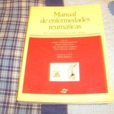 Libros de segunda mano: MANUAL DE ENFERMEDADES REUMATICAS , S.E.R. Lote 76831315