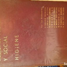 Libros de segunda mano: MEDICINA PREVENTIVA Y SOCIAL.HIGIENE. Lote 76857143