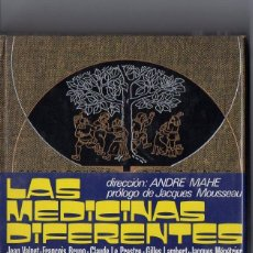 Libros de segunda mano: MAHE : LAS MEDICINAS DIFERENTES (HORIZONTE, 1972). Lote 77320833
