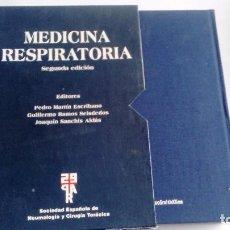 Libros de segunda mano: MEDICINA RESPIRATORIA SDAD ESPAÑOLA DE NEUMOLOGÍA Y CIRUGÍA TORÁCICA CONTIENE CD-ROM. Lote 77788109